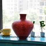 Vaas van het Glas van de schoonheid de Kleurrijke voor Bloem en de Creatieve Ambacht van de Decoratie van het Huis