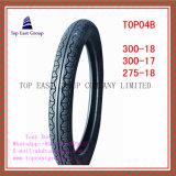Größe 300-18, 300-17, Motorrad-Reifen der Qualitäts-275-18
