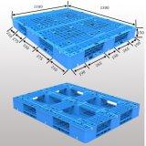 1300*1100 HDPE Enig Gezicht 4 Fabriek van de Pallet van de Lage Prijs van de Manier de Plastic