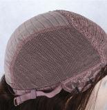 La peluca del frente del cordón del pelo de la manera/ata por completo pelucas del pelo humano de la peluca el 100%