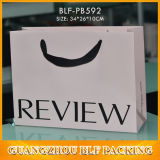 Impresión de encargo de la bolsa de papel (BLF-PB183)