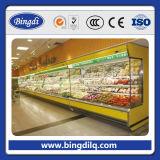 Gas Exhibition Price Refrigerator für Soft Drink und Champagne