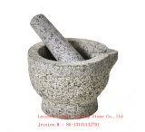 Mortier et pilon/mortier et pilon en pierre de Grantie