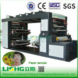 Máquina de impressão Flexographic do Web médio para o copo de papel, saco de papel