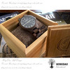 Hongdao Laca de alto brillo de madera reloj de embalaje Box_D