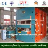 Machine en caoutchouc de presse de vulcanisateur de qualité pour la feuille en caoutchouc de bande de conveyeur et bâti corrigeant la machine de presse