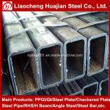 Longitud de acero rectangular de acero del tubo del tubo A36 al azar