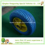 아름다운 색깔을%s 가진 단단한 연약한 PU 거품 타이어