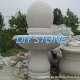 Garten-Brunnen-Basalt-Skulptur