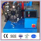 4 máquina de friso da mangueira hidráulica da polegada 220V 380V