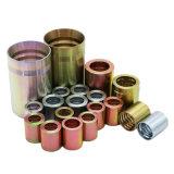 De professionele Metalen kap van de Schakelaar van de Montage van de Slang van Staal 20 Hydraulische