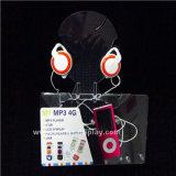 Soporte de acrílico para auriculares con pantalla MP4 Btr-C6001