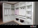 Wardrobe moderno da laca branca da alta qualidade de Welbom