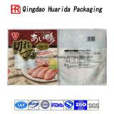 カスタムロゴによって薄板にされるパッキング袋のカスタムプラスチック食糧袋