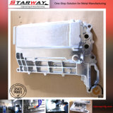 CNC de perfil de aluminio de cortina de perforación de pared de mecanizado de fresado (SW-M-001)