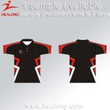 Healong Cheap Custom Sublimation Team Sports Polo Shirts Homme