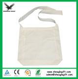 Sacs d'emballage blanc en gros de Carier de toile avec l'impression