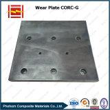 はさみ金を滑らせるためのCorc-Gの混合の鋼鉄覆われた耐久力のある版