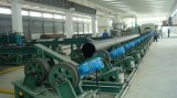 3lpe 3PE Coating Steel Spiral Pipe voor Sewage