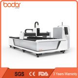 Cortadora de la fibra con el cortador del acero de la máquina del laser del metal del CNC