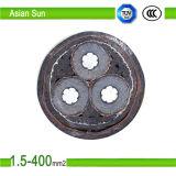 Conduttore di rame/di alluminio XLPE ha isolato il fornitore inguainato PVC del cavo elettrico