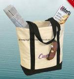 Bolsa de lona personalizada com sacos de corpo cruzado com Gusset
