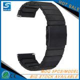 Cinturino di lusso dell'acciaio inossidabile per la frontiera dell'attrezzo S3 di Samsung