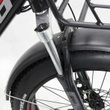 Bici eléctrica de la nueva nieve gorda del diseño 2017 con el motor trasero de Bafang, 1000W disponible