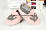 Princess кроны младенец способа: Кожаный ботинки младенца (HL-1)