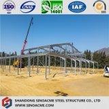 Structure métallique de grande envergure pour des ateliers