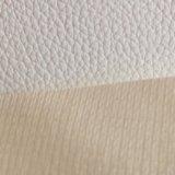 Кожа PVC кожи кожи ботинок кожи ботинок аттестации Z014 золота SGS международная вскользь кожаный кожаный