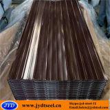 Лист Corrugated PPGL Galvalume строительных материалов стальной