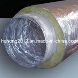 Изолированный гибкий алюминиевый трубопровод сброса воздуха изоляции (HH-C)