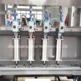 Tipo giratório automático máquina de enchimento do petróleo para frascos do animal de estimação