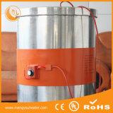 serviço público do tambor do metal do biodiesel do petróleo do calefator do cilindro da faixa do silicone de 55gallon 240V 1000W