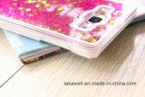 Do PC duro por atacado do produto novo de China caixa líquida do telefone da areia da estrela para o caso da tampa do telefone móvel do Quicksand de Samsung A3/A5/A7