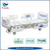 Long Side Rail Hospital Medical Patient Bed avec contrôleur de rail