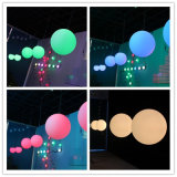 ナイトクラブDMX制御20cm DMX LED魔法3D球ライト
