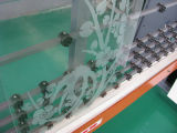 Máquina vertical do Sandblasting da venda 2015 quente para o vidro