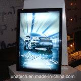 Aluminio de interior de los media que hace publicidad del rectángulo ligero delgado del LED