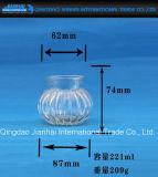 Moderner Glasware-Kerze-Halter mit Muster
