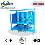 Máquina doble del filtro de aceite del aislamiento del vacío de las etapas