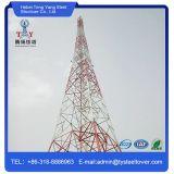 Torre de aço galvanizada da telecomunicação do Combinar-Ângulo