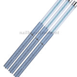 Blaue Perlen-Acrylnagel-Schönheits-Pinsel-Feder-Maniküre-Hilfsmittel (B051)