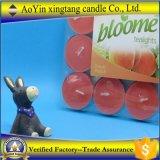 Mini Tealight velas perfumadas coloridas baratas al por mayor del precio 9g