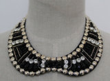 2016 نمو مجوهرات خرزة بلّوريّة مكتنزة عقد طوق ([ج0046])