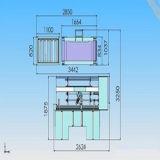 Machine semi automatique de Gluer de dépliant de Flexo de cadre de carton de carton ondulé