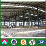 Oficina estrutural de aço industrial pré-fabricada do baixo custo de China