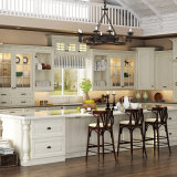Oppein 6 Sélections de portes Armoires de cuisine en bois (OP15-S01)
