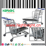 500kg Heavy Duty Warehouse Cargo Trolley Cart avec plate-forme réglable